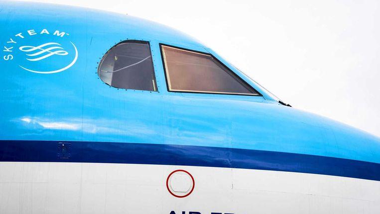 Een KLM-vliegtuig. Beeld anp