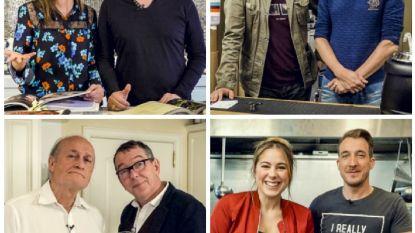 Bieke & Erik, Roel & Kürt, Jacques & Herman en Marie & Andy wagen zich aan '2 Sterren Restaurant'