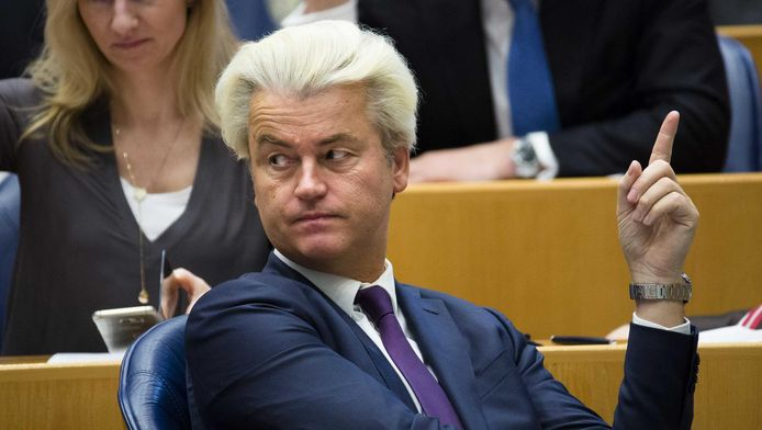 PVV-fractievoorzitter Geert Wilders