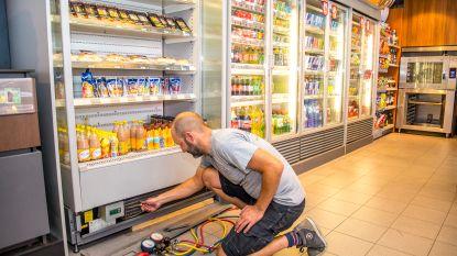 Ze ziet af, uw koelkast