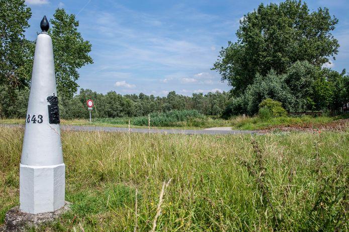 Het lichaam werd gevonden vlakbij de Belgische grens.