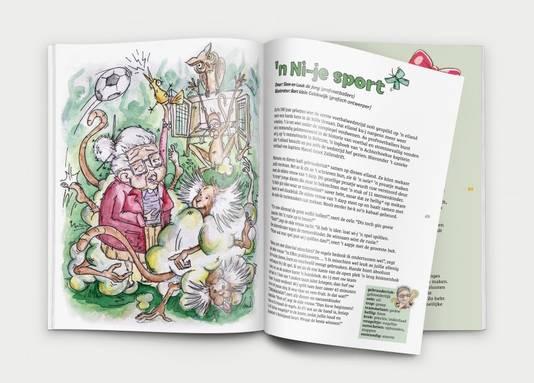 Verhaal van de voetbalbroers Siem en Luuk de Jong met illustraties van Bart klein Goldewijk.