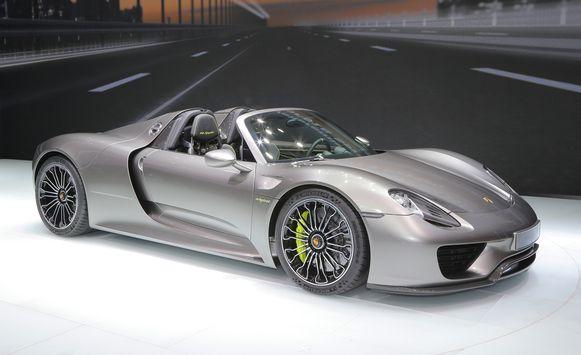 Porsche 918 Spyder : 100-0 km/u in 31,4 meter