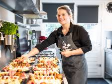 Hobbymatig hapjes bereiden werd succesverhaal voor Carmen uit Langeveen
