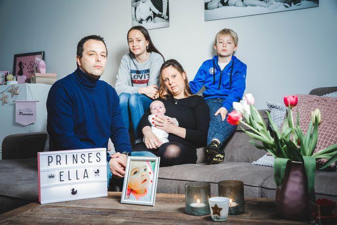 Kristof Hoste en zijn partner Els Crommelinck vinden eindelijk weer geluk met de geboorte van hun dochtertje Nina.