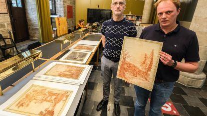 """Jambon benoemt kunstwerken uit Ieperse Merghelynck Museum tot cultureel erfgoed: """"Deze tekeningen zijn van groot kunsthistorisch belang en verdienen het beschermd te worden"""""""