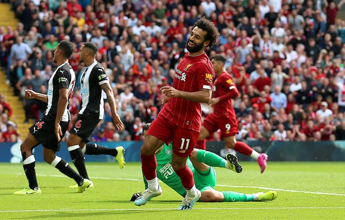 Mohamed Salah maakt de 3-1.