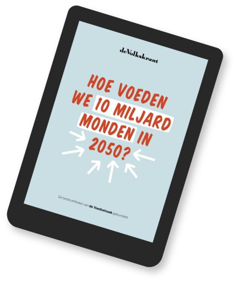 U kunt het e-book over de Voedselzaak downloaden op volkskrant.nl/ebook. Beeld