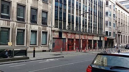 Turkse ambassade in Brussel met verf besmeurd