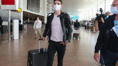 """Korte poos thuis deed deugd voor Van Aert voor vertrek richting eerste WK: """"Mee naar gynaecoloog gegaan, dat verzet de gedachten"""""""