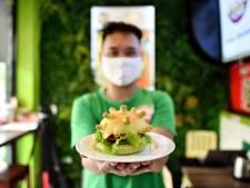 Le coronavirus inspire un burger original