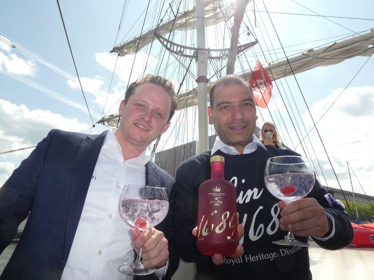 Patrick van der Peet en Alexander Janssens van Gin 1698: