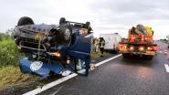 Roemeense bestuurder bevrijd uit bestelwagen