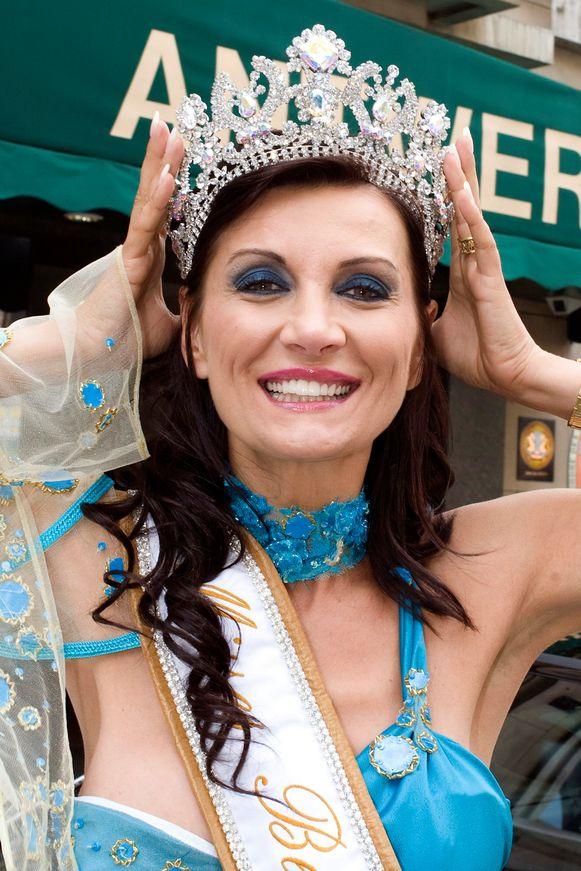 Seka Dobric, hier bij haar verkiezing tot Miss Belgian Globe in 2008, is een van de nieuwe gezichten.