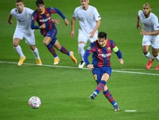 Barcelona met ruime cijfers voorbij Ferencváros dankzij Messi en 17-jarige youngsters