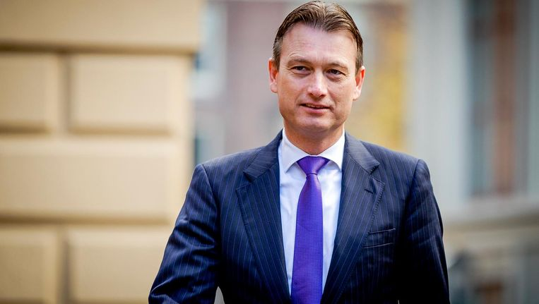 Halbe Zijlstra, minister van Buitenlandse Zaken Beeld anp