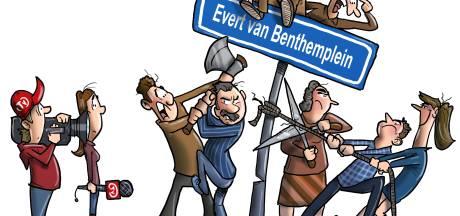 Gemor in Sint Jansklooster rond vernoeming schaatsheld Evert van Benthem