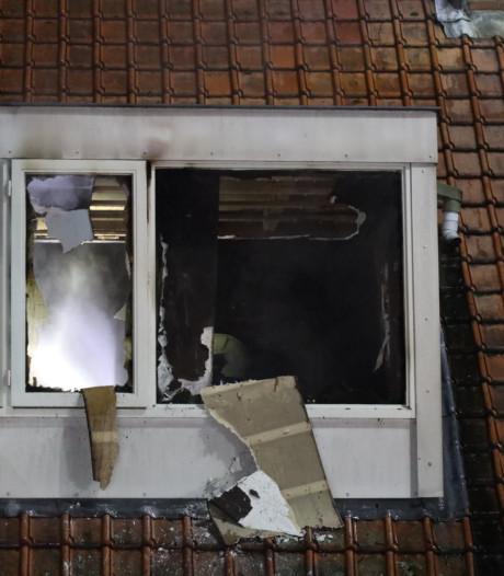 Brand veroorzaakt veel schade in woning Waalwijk