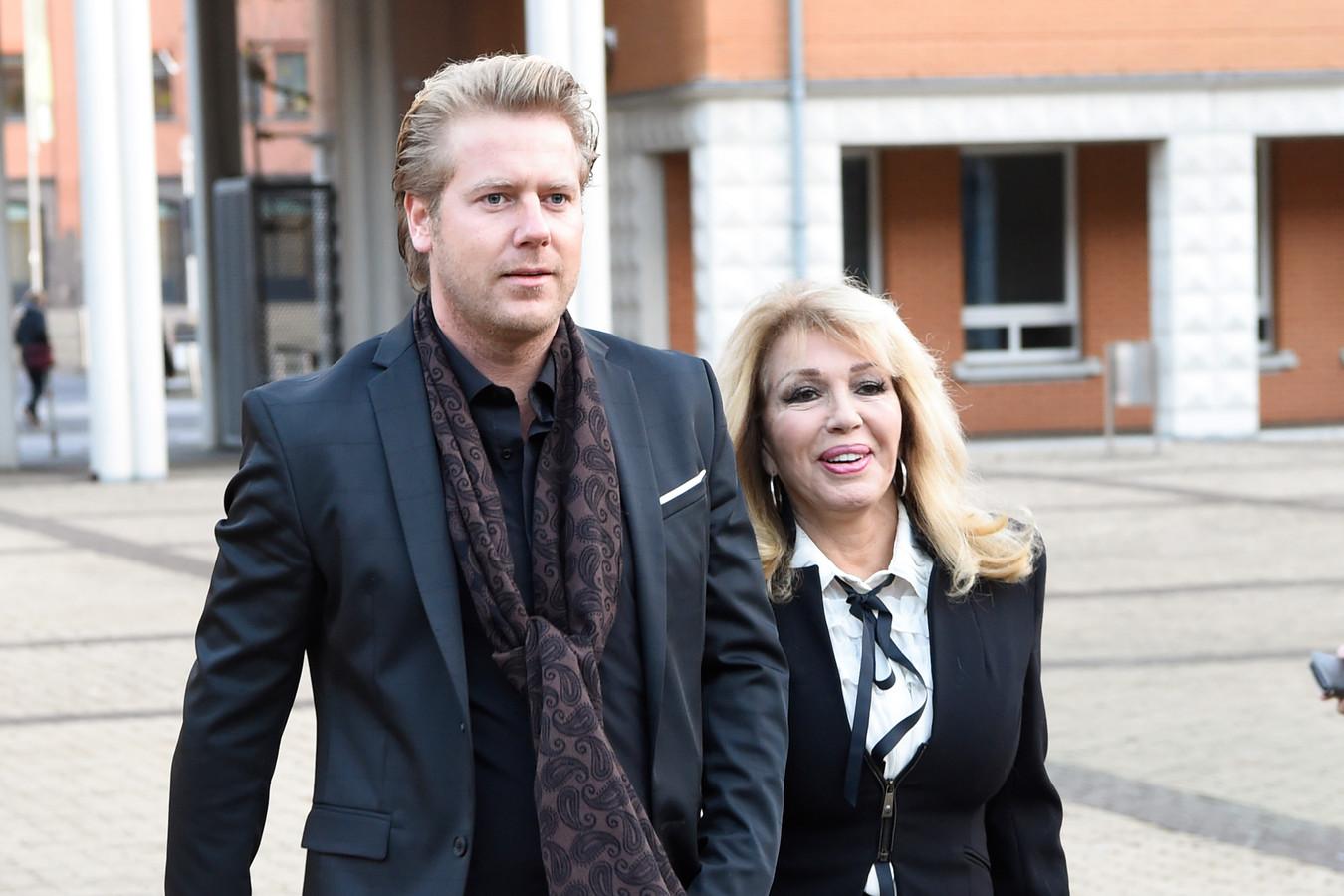 Patricia Paay en haar man Robbert Hinfelaar
