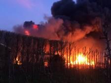VIDEO: 46 huizen ontruimd vanwege grote brand Kapelle