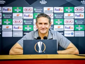 """Standard-coach Montanier mikt op thuiswinst tegen in EL-duel tegen Rangers: """"Het wordt een zware match"""""""