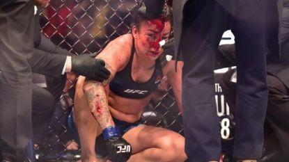 """""""Ik kan niet meer. Ik kan écht niet meer."""" MMA-vechtster richt zich tot entourage, maar die laat haar pijnlijk in de steek"""