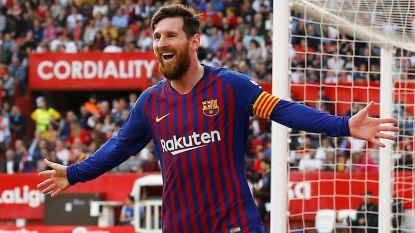 Van 2-1 naar 2-4: Lionel Messi tovert met fenomenale hattrick in Sevilla, zijn favoriete speelbal
