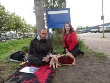 Veganistische pizza voor Remco na afloop van hongerstaking bij Vion