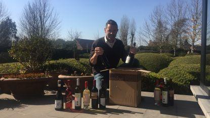 Pintse wijnhandelaar serveert 'quarantwijn'