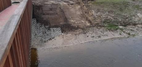 Gemeente treft noodmaatregelen bij brugje over Watermolenbeek bij Nispen