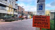 Parking Shopping 2 tijdelijk afgesloten