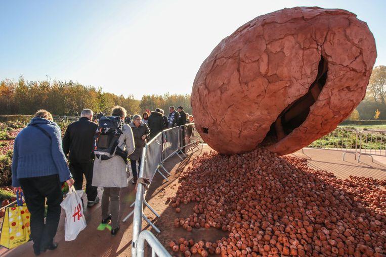 Coming World Remember me in Palingbeek Ieper trok een kwart miljoen bezoekers     Foto Henk Deleu