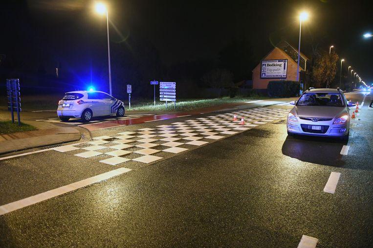 Het ongeval gebeurde op het kruispunt van de Haachtsesteenweg met de Kerkstraat.