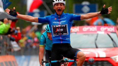 Ciccone pakt de zege, Nibali en Carapaz winnen na rit over Mortirolo bijna anderhalve minuut op Roglic