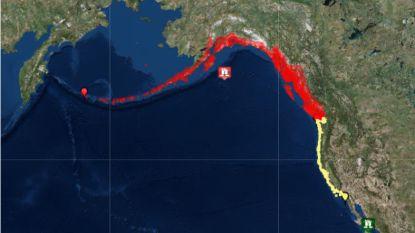Tsunami-alarm weer ingetrokken na krachtige aardbeving bij Alaska