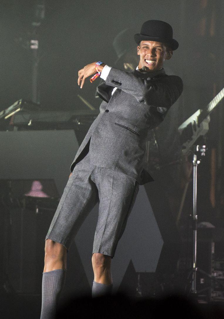 Stromae op het Amerikaanse festival Coachella.