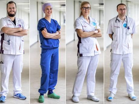 Guus, Irina, Fleurtje en Nick leggen vandaag hun werk neer: 'Als wij fouten maken, kan er iemand doodgaan'