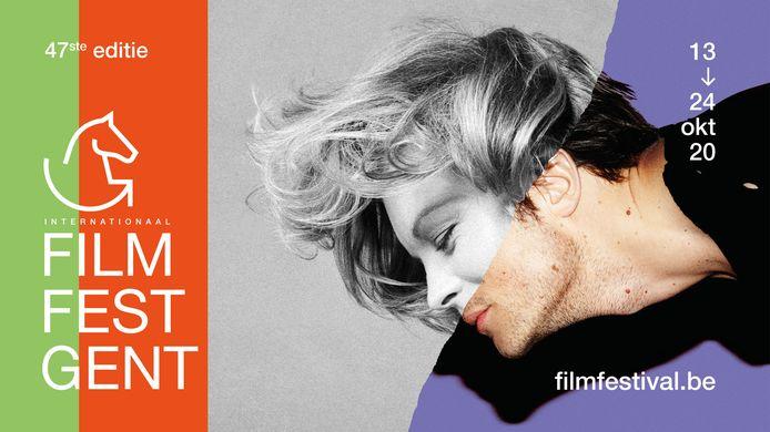 Film Fest Gent 2020 koos als beeld een combinatie van de Duits-Oostenrijkse actrice Romy Schneider en de Duitse acteur August Diehl.
