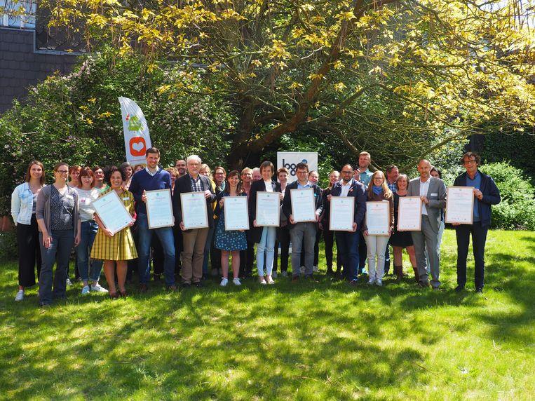 De ondertekenaars van het Gezonde Gemeente Charter