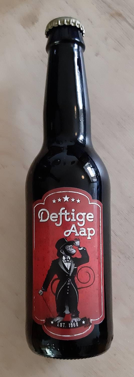 Bier van De Deftige Aap.