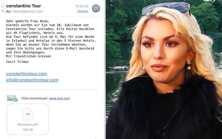Natalia Osada, in ons buurland bekend vanwege haar deelname aan 'Adam zoekt Eva', wil andere influencers waarschuwen om niet in dezelfde val te trappen.