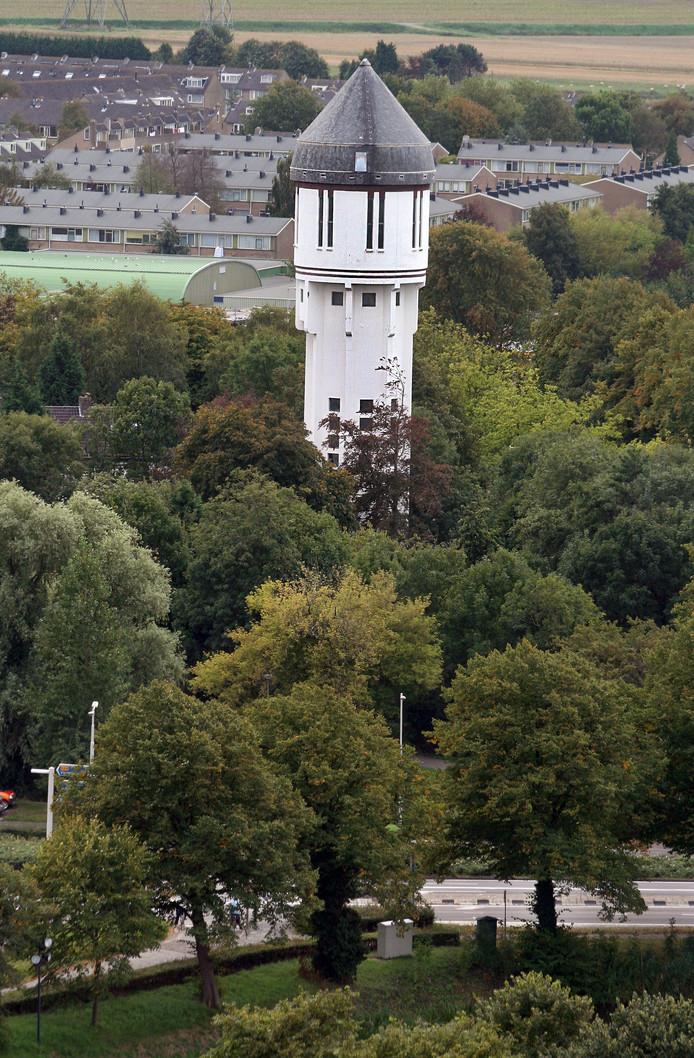 De watertoren krijgt nieuwe 'bewoners'.