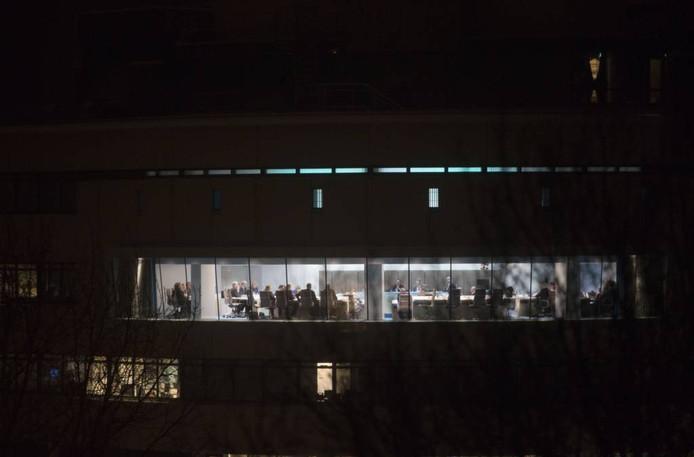De Edese raadzaal van buitenaf.