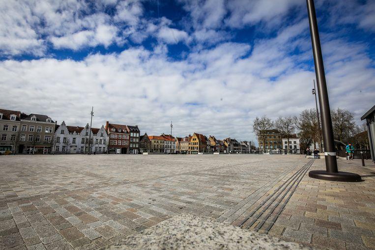 De twee mannen werden betrapt op 't Zand in Brugge.
