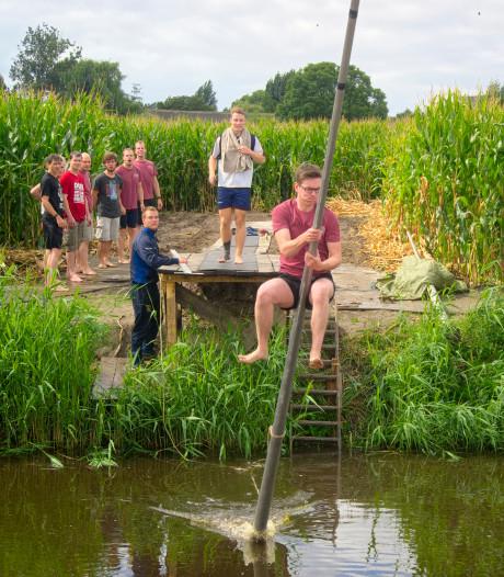 Vierde editie Vlaams kampioenschap fierljeppen in Prosperpolder