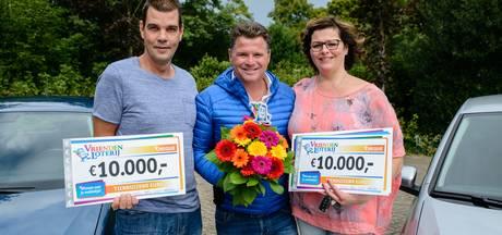Twee keer 10.000 euro en twee auto's voor Harderwijks echtpaar