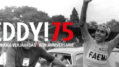 Wens Eddy Merckx, samen met KOERS, een gelukkige verjaardag