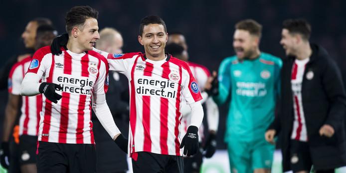 PSV is bij een titel al bijna zeker van Europees voetbal in het komende seizoen, als de Champions League-winnaar zich via de eigen competitie plaatst voor de groepsfase van het toernooi.
