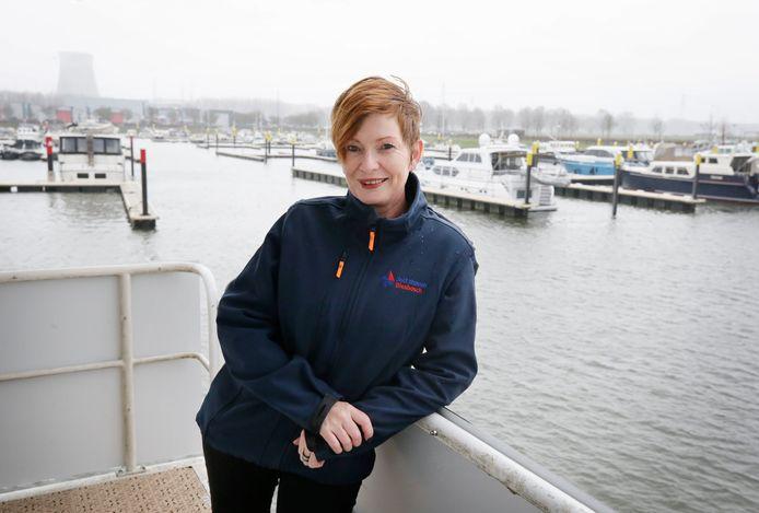 Jachthavendirecteur Renate Ilmer: ,,We hopen strakswachtlijsten te hebben.''