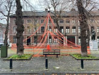 En de meest bizarre kerstversiering staat… in het Prinsenhof